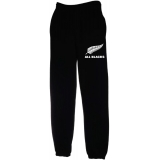 ALL BLACKS new zealand PANTALONE cotone FELPATO