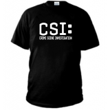 T-Shirt CSI CRIME SCENE INVESTIGATION NEW YORK
