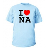I LOVE NAPOLI T-SHIRT
