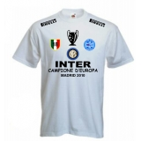 T-SHIRT INTER CHAMPIONS LEAGUE BIANCA