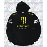 FELPA MONSTER ENERGY NERA