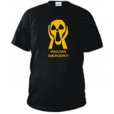 T-SHIRT NO AL NUCLEARE no nuclear emergenzy