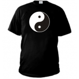 T-SHIRT Yin and Yang - GIORNO E NOTTE - LUNA SOLE
